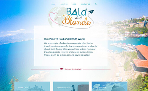 Bald and Blonde World